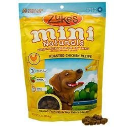 Zukes Performance Pet Zukes Pet Dog Treat Mini Naturals Moist Chicken 1