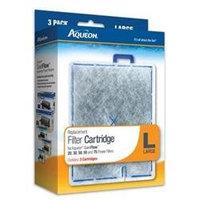 All Glass Aquarium Aquarium Aqueon Cartridge Large 3 Pack