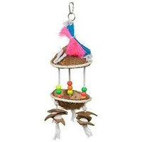 Prevue Pet Products Pve Toy Tropical Teasers Tiki Hut
