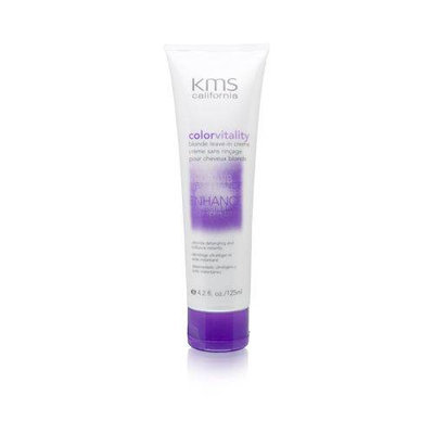 KMS ColorVitality Blonde Leave-In Creme 4.2 oz