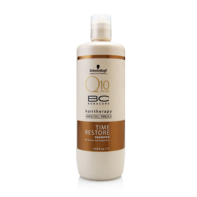 Schwarzkopf BC Bonacure Q10 Time Restore Shampoo for Mature and Fragile Hair