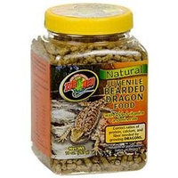 Zoo Med Labs Inc. Zoo Med Natural Juvenile Bearded Dragon Food: 10 oz
