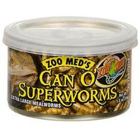 Zoo Med Labs Inc. Zoo Med Laboratories SZMZM146 Can O Superworms