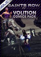 Volition Saints Row IV - Comics Pack