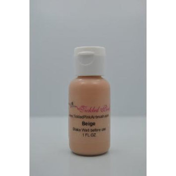 Tickled Pink Airbrush Water Based Foundation - Beige (1OZ)