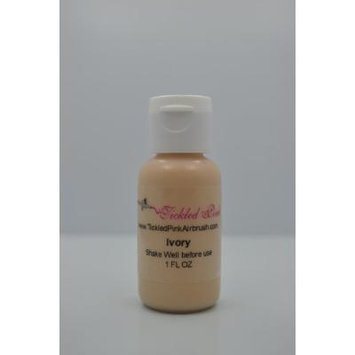 Tickled Pink Airbrush Water Based Foundation - Ivory (1OZ)