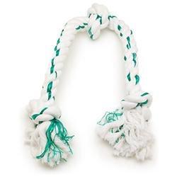 Booda Products 52312\52236 Fresh-N-Floss 3-Knot Bone