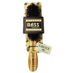 Bass Semi Oval Wild Boar Soft Hair Brush - 1 Brush