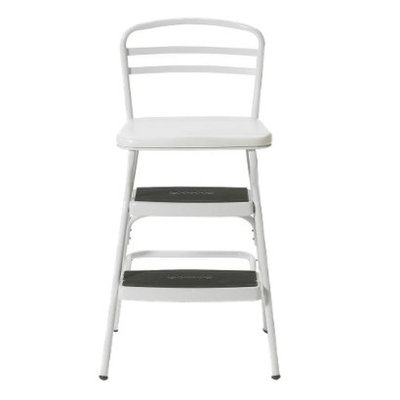 Cosco Step Stool: Cosco Jumbo Chair/Stool with Lift-Up Seat