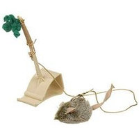 Ourpet S Company Cat Play-n-squeak Batting Practice