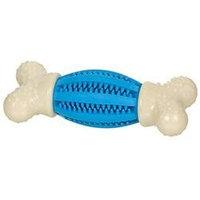 Tfh/nylabone Nylabone Double Action Dental Chew Football Dog Toy