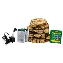 Tetra River Rock Decorative Reptile Filter - Up to 55 gal