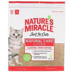 tures Miracle Nature's Miracle Odor Control Clumping Corn Cob Litter - 18 lb