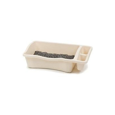 Petmate Giant Cat Litter Pan Bottom Only with Side Compartments