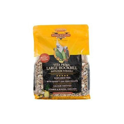 Sun Seed Vita + Plus Large Hookbill Safflower Formula Bird Food