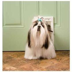 Pet Safe PetSafe Plastic Pet Door Premium White - Small (PPA00-10958)