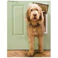 Pet Safe PPA00-10960 White Plastic Pet Door - Large