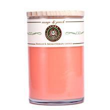 Terra Essential Scents Massage & Aromatherapy Candle Mango & Peach 12Oz
