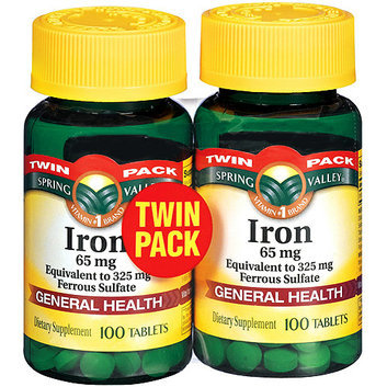 Spring Valley Iron 65 mg