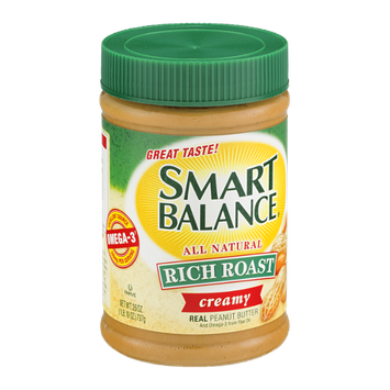 Smart Balance Real Peanut Butter Rich Roast Creamy