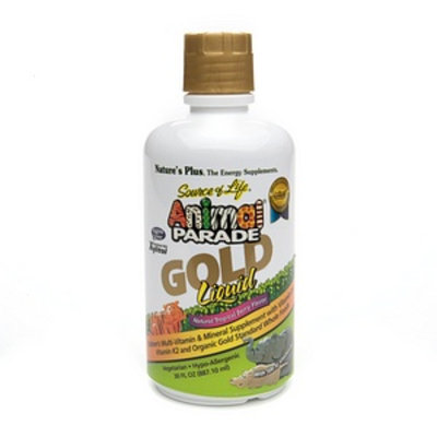 Nature's Plus Animal Parade Gold Liquid Multi-Vitamin
