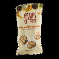 Grains Of Truth Whole Grain Snacks Coconut Banana