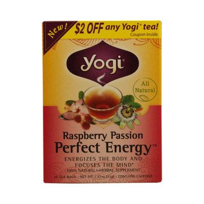 Yogi Tea Herbal Tea Raspberry Passion Perfect Energy