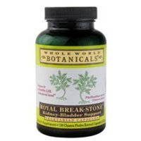 Whole World Botanicals Royal Break Stone Kidney Bladder Support -- 400 mg - 120 Vegetarian Capsules