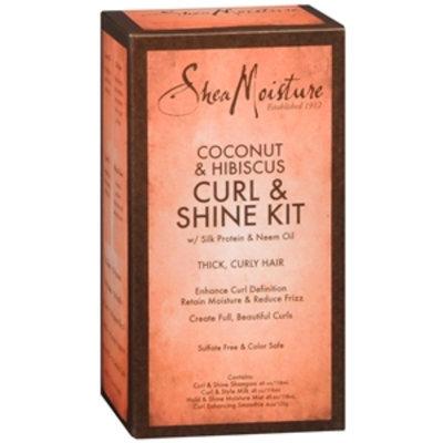 SheaMoisture Coconut & Hibiscus Curl & Shine Kit