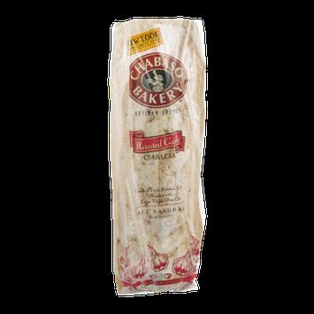 Chabaso Bakery Roasted Garlic Ciabatta