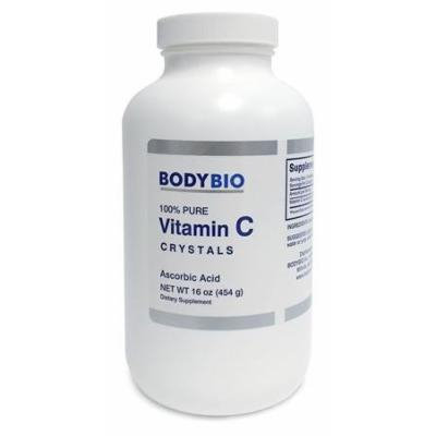 BodyBio , Vitamin C Crystals , 454g. , 16oz.