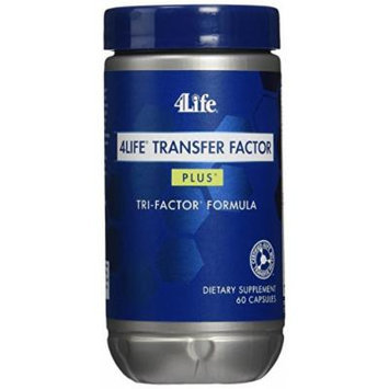 Transfer Factor Plus Tri-Factor Formula 60 Cap by 4Life (Pack of 2)