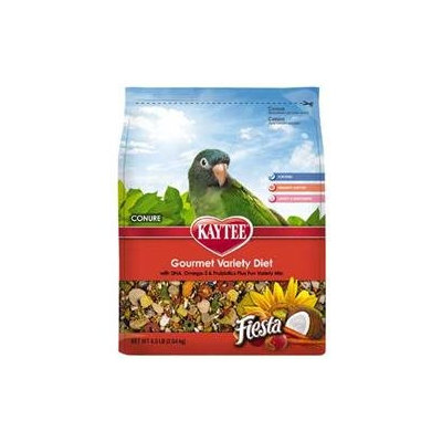 Kaytee Products Inc - Fiesta Max Food- Conure 4.5 Pound