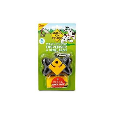 Brampton Company Bags on Board Bone Pet Dispenser Pack in Black