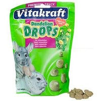 Vitakraft Dandelion Drops for Chinchilla Treat - 5 oz.