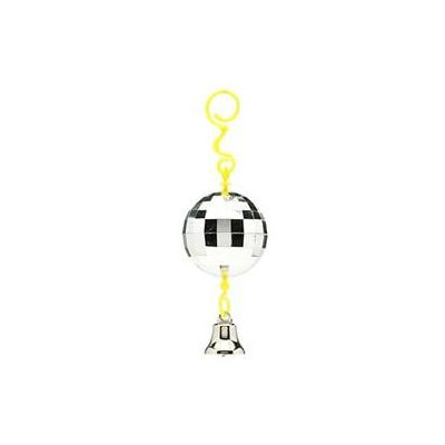 JW Pet Company Insight Activitoy Disco Ball Bird Toy