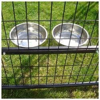 Lucky Dog Kennels Lucky Dog Static 2 Pet Bowl System