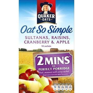 Quaker® Oat So Simple Apple Sultana Raisin & Cranberry