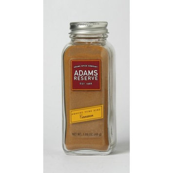 Adams Extracts Cinnamon, Tung Hing, Ground, 1.69-Ounce Glass Jar (Pack of 6)