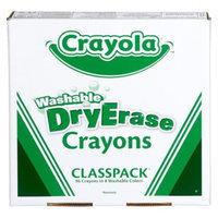 Crayola Dry Erase Crayon Classpack