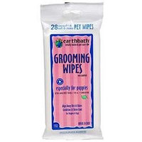 Earthbath Puppy Pet Grooming Wipes 28 ct