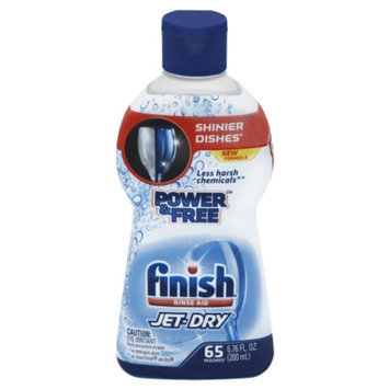 Reckitt Benckiser Finish Rinse Aid Jet-Dry Power & Free 125 Washes 13 oz