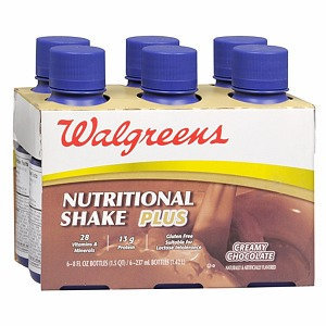 Walgreens Nutritional Shakes Plus Liquid 6 Pack