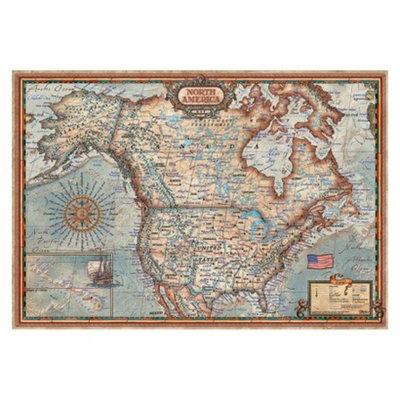John N. Hansen Co John N. Hansen North American Map 1,000 pc Puzzle