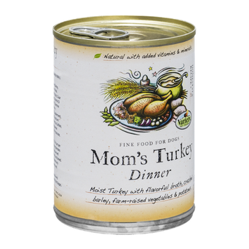 Variety Pet Foods Mom's Turkey Dinner Fine Food for Dogs