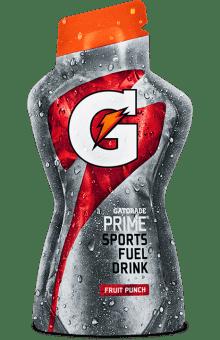 Gatorade® Prime Fruit Punch Sports Fuel Drink