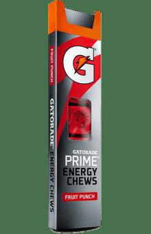 Gatorade® G Series 01 Prime Fruit Punch Energy Chews