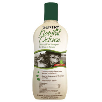 Sentry Natural DefenseA Flea Cat Shampoo