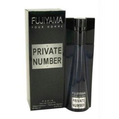 Fujiyama Private Number by Succes De Paris Eau De Toilette Spray 3.3 oz