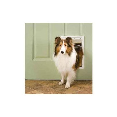 Pet Safe Medium White Plastic Pet Door